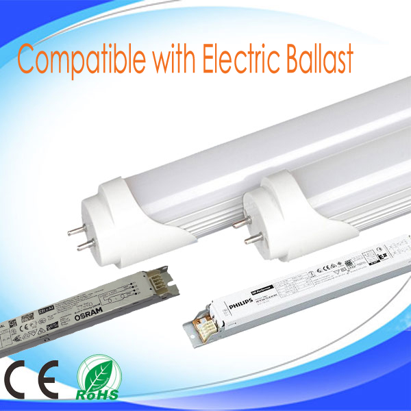 COMPATIBLE WITH ELECTRIC BALLAST T8 TUBE