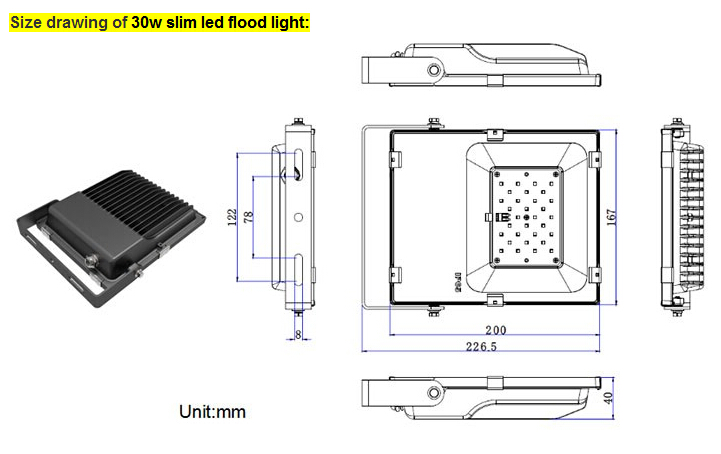 Detail for SMD flood light2