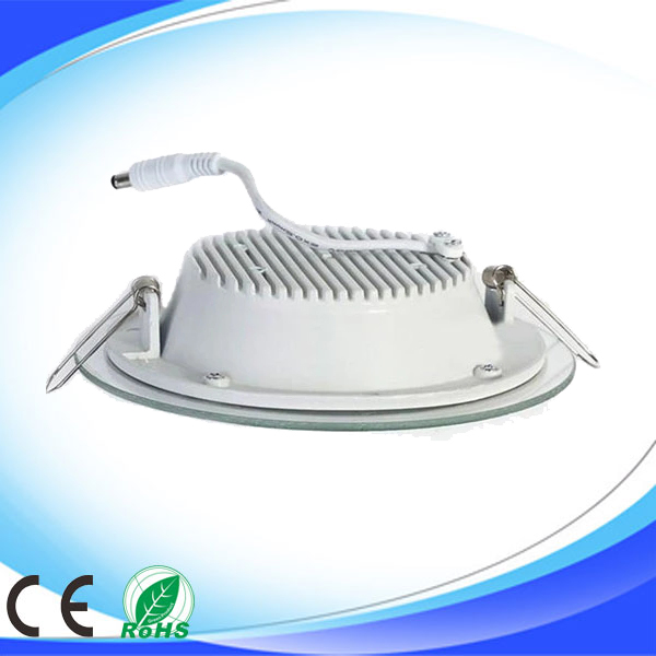 led glass cover downlights back