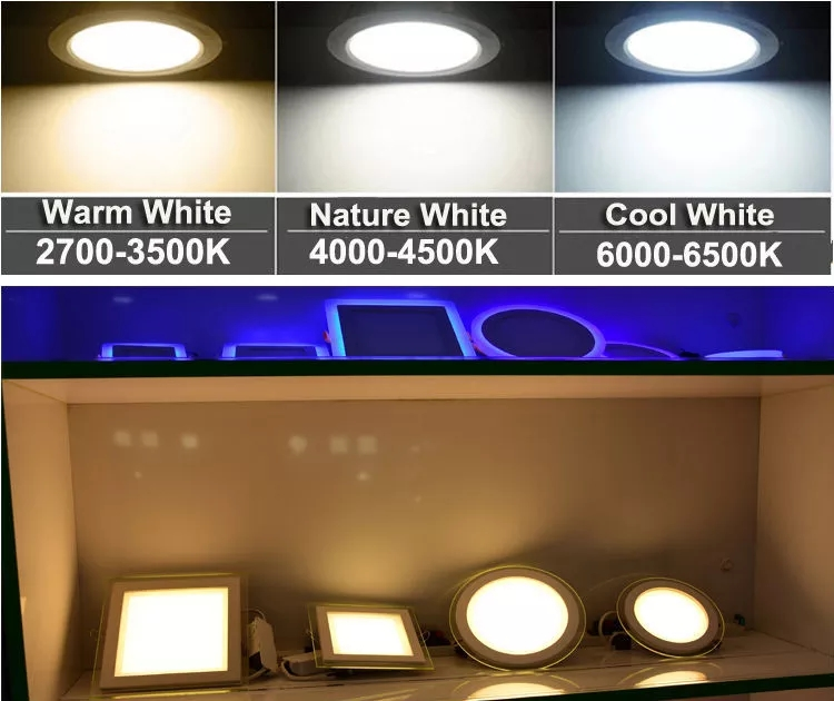 led ceiling downlight color temperature