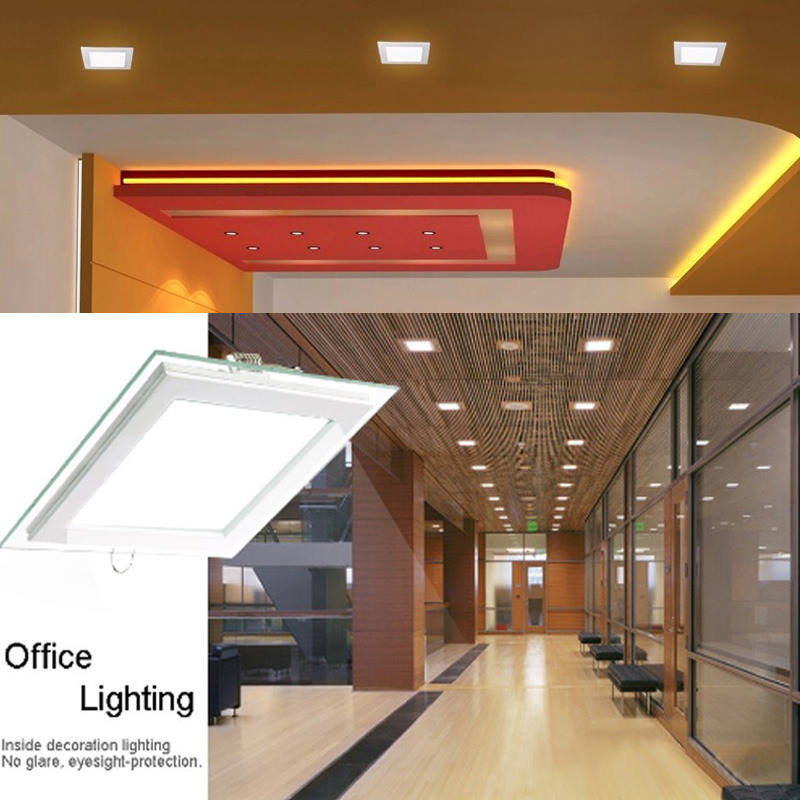 square led ceiling recessed lamps