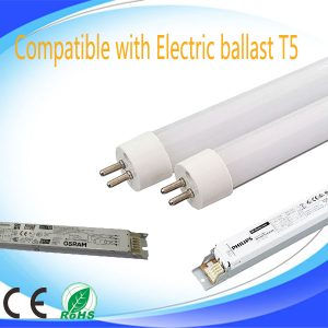 Electronic ballast compatible T5