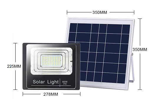 60w commercial solar flood lights