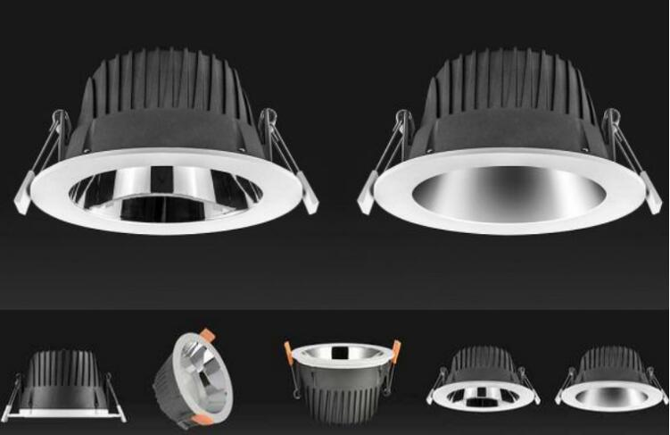 led downlights 6w series