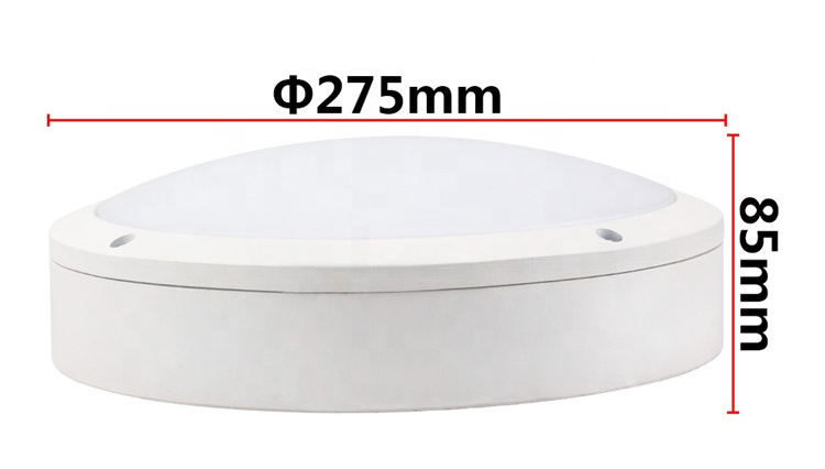 led ceiling light with motion sensor size drawing