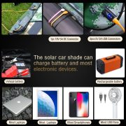 Portable solar charging board