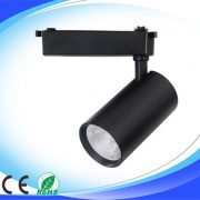 30w black led track light